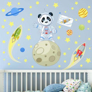 Produktfoto Wandtattoo - Astronaut Panda