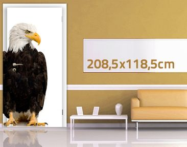 Product picture Door Wall Mural Eye of the Eagle