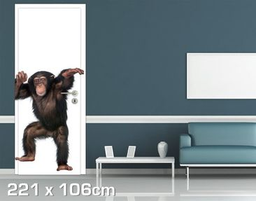 Product picture Door Wall Mural Cheery Monkey
