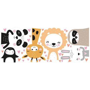 Product picture Window Sticker - Safari Animal Set