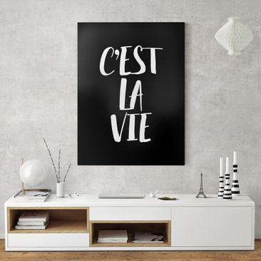Product picture Canvas Art - C'Est La Vie - Portrait...
