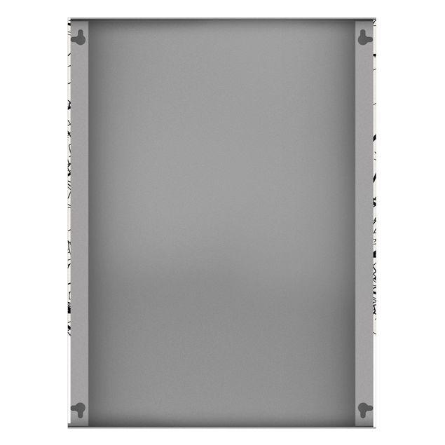 Produktfoto Magnettafel - Stadtplan Bern - Klassik - Memoboard Hochformat 4:3