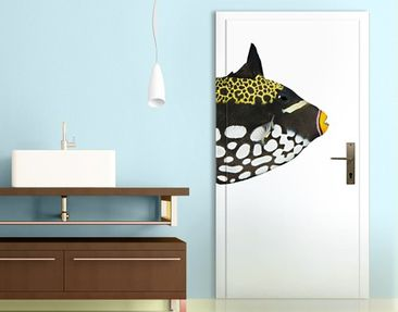 Produktfoto Door Wall Mural Clown Triggerfish