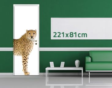Product picture Door Wall Mural Cheetah