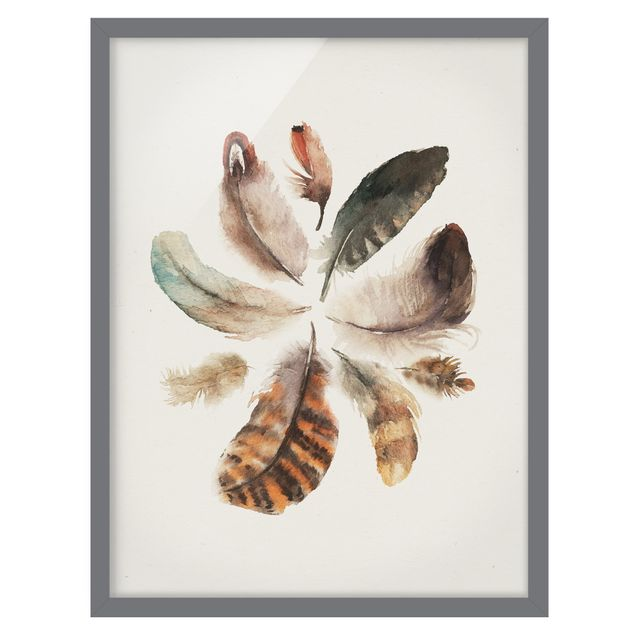 Immagine del prodotto Poster con cornice - Feather Collection - Verticale 4:3