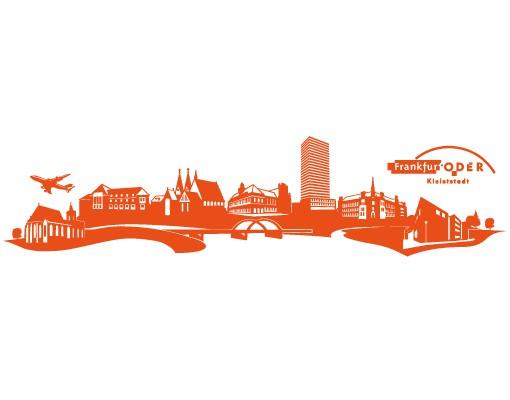 Produktfoto Stadt Frankfurt Oder - Wandtattoo Skyline - No.AC9 Frankfurt Oder Skyline