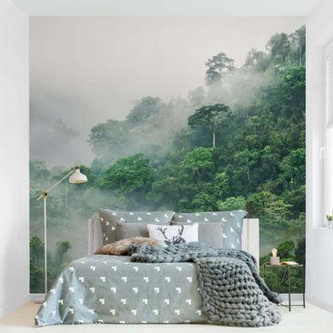 Product picture Non-woven wallpaper - Jungle In The Fog...