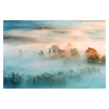 Produktfoto Vliestapete - Nebel bei Sonnenaufgang - Fototapete Breit