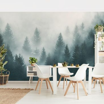 Product picture Non-woven Wallpaper Premium - Coniferous...