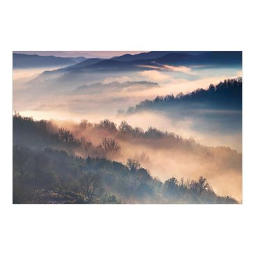 Product picture Photo Wall Mural - Fog At Sunset -...
