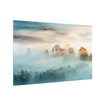 Product picture Glass Splashback - Fog At Sunrise -...