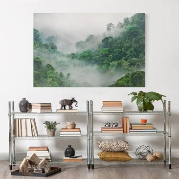 Product picture Canvas Art - Jungle In The Fog -...