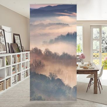 Product picture Panel Curtain - Fog At Sunset -...