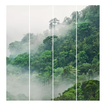 Product picture Sliding curtains set - Jungle In The Fog...