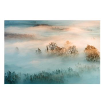 Product picture Magnetic Board - Fog At Sunrise -...