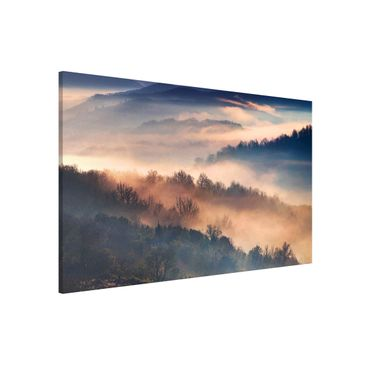 Immagine del prodotto Lavagna magnetica - Fog At Sunset - Formato orizzontale 3:2
