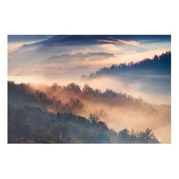 Product picture Magnetic Board - Fog At Sunset -...
