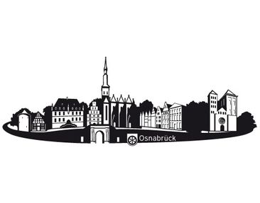 Product picture Wall Decal no.RS4 Skyline Osnabrück