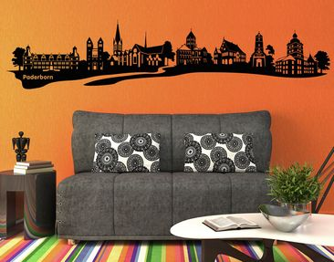 Product picture Wall Decal no.AC13 Paderborn Skyline