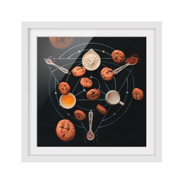 Product picture Framed print - Alchemy Of Baking -...
