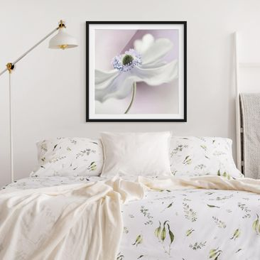 Product picture Framed print - Anemones Breeze - Square...