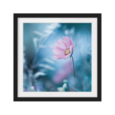 Product picture Framed print - Bloom In Pastel - Square...