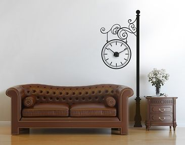 Product picture Wall Decal Clock no.CG158 Lantern