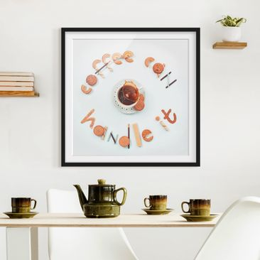 Product picture Framed print - Coffee Can Handle It -...