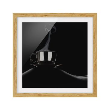 Product picture Framed print - Coffee In Bed - Square...