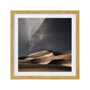 Product picture Framed print - Colorado Dunes - Square...