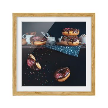 Product picture Framed print - Donuts From The Kitchen...