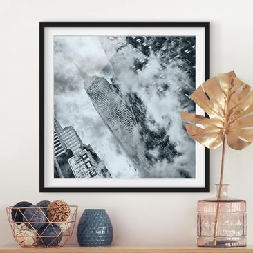 Product picture Framed print - Facade Of The Empire...