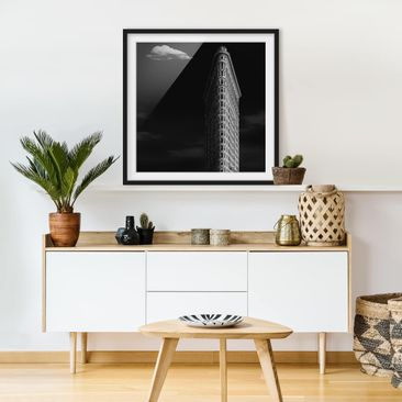 Product picture Framed print - Flatiron Building -...