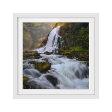 Product picture Framed print - Spring Flood - Square...