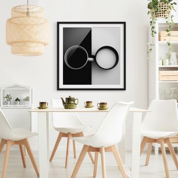 Product picture Framed print - Opposites - Square Format...