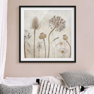 Product picture Framed print - Growing Old - Square...