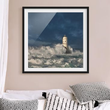 Produktfoto Framed print - Lighthouse In Sardinia -...