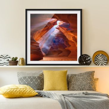 Product picture Framed print - Play Of Light In Antelope...