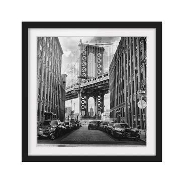 Product picture Framed print - Manhattan Bridge In...