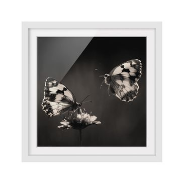 Product picture Framed print - Medioluto Norte - Square...