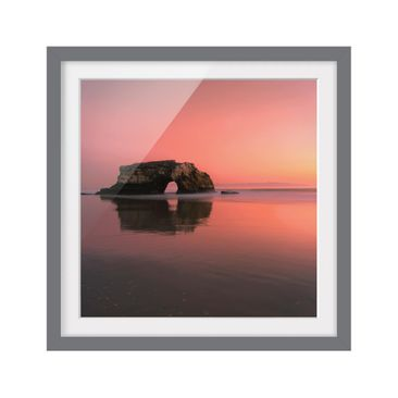 Product picture Framed print - Natural Bridge In The...