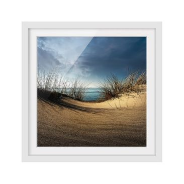 Product picture Framed print - Sand Dune - Square Format...