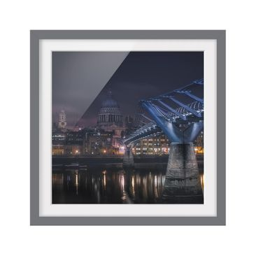 Product picture Framed print - St Paul'S At Night -...