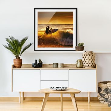 Product picture Framed print - Sun, Fun And Surf -...