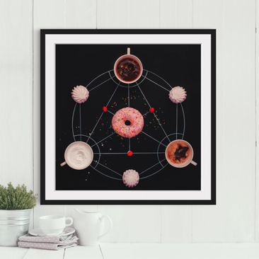 Product picture Framed print - Sweet Alchemy Of Cooking...