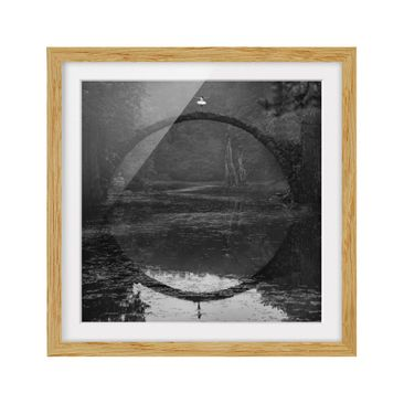 Product picture Framed print - Dream Dancer - Square...