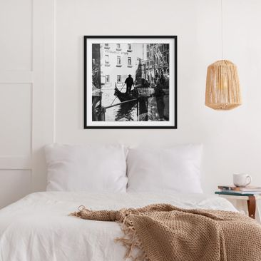 Product picture Framed print - Venice Reflections -...