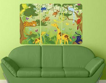 Produktfoto Wall Mural no.IS87 Jungle Playground...