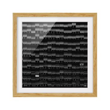 Product picture Framed print - Way Of Life - Square...