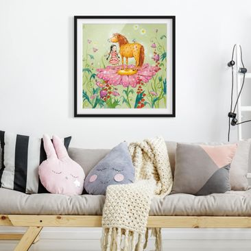 Product picture Framed print - The Magic Pony On The...